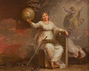 Den katolske verdensanskuelse, allegori