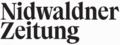 Nidwaldner Zeitung Logo 2016.png