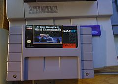 Nigel Mansell's World Championship Racing's SNES cartridge.JPG