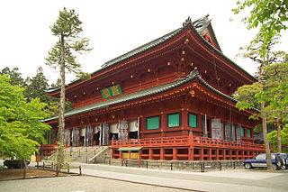 Rinnō-ji Buddhist temple in Tochigi Prefecture, Japan