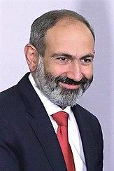 Amtierender Premierminister Nikol Paschinjan