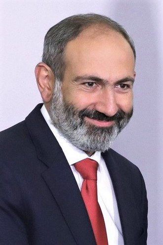Second Pashinyan government - Image: Nikol Pashinyan (2018 05 14)