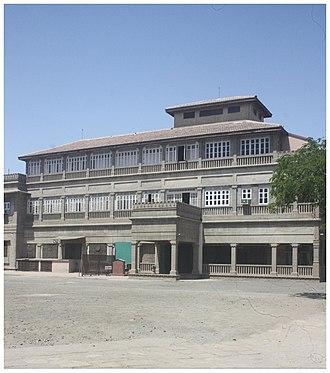 Bhavnagar State - Nilambagh Palace, Bhavnagar