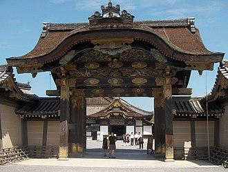 Nijō Castle - The karamon main gate to Ninomaru Palace