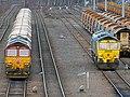 No.66010 & no.66552 Maltby Raider (Class 66) (6898898223).jpg