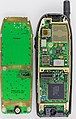 Nokia 6110 - rear of keyboard part and motherboard-92716.jpg