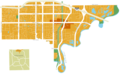 Nora, Indianapolis, IN locator map.png
