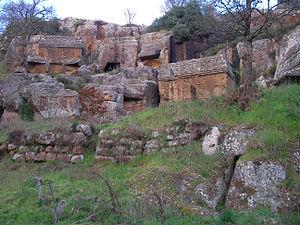 Norchia - Etruscan Necropolis at Norchia.