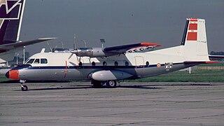 Aérospatiale N 262 Regional airliner