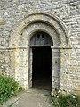 Norman doorway, St Aldhelm's Chapel - geograph.org.uk - 1625616.jpg