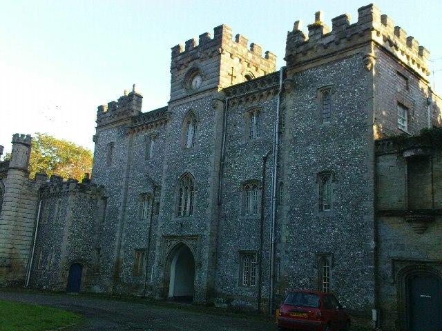 North side of Castle Goring