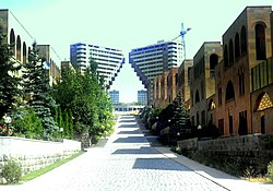 The Northern Ray residential area at the Arabkir district