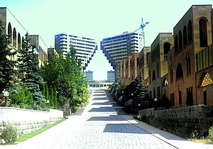 Arabkir District - The Northern Ray residential area at the Arabkir district