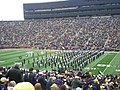 Northwestern vs. Michigan football 2012 01 (Northwestern band).jpg