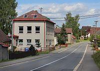 Nové Dvory (ZR), main street.jpg