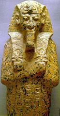 Oberteil eines Uschebti Amenophis' III.