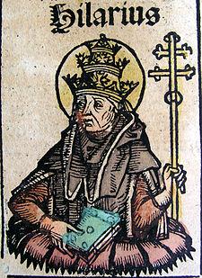 Nuremberg chronicles - Hilarius, Pope (CXXXVIv).jpg