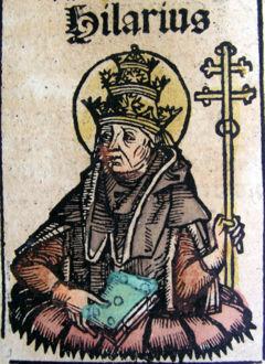 Image du pape Saint Hilaire