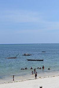 Nyali Beach from the Reef Hotel during high tide in Mombasa, Kenya 28.jpg