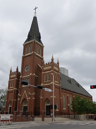 St. Joseph Old Cathedral (Oklahoma City) - Image: OK OKC St Josephs Old Cathedral