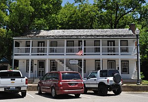 National Register of Historic Places listings in Pulaski County, Missouri - Image: OLD STAGECOACH STOP, WAYNESVILLE, PULASKI COUNTY, MO