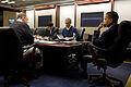 Obama briefed on Chile earthquake.jpg
