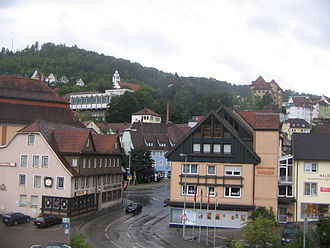 Oberndorf am Neckar - View of the town