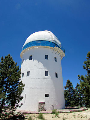 National Astronomical Observatory (Mexico) - Dome of the 2.1 m telescope on San Pedro Mártir