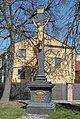 Ochoz u Brna, Obce, kříž u silnice (2017-04-10; 02).jpg