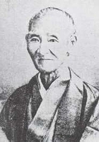 Ogasawara Nagamichi - Ogasawara Nagamichi in his later years