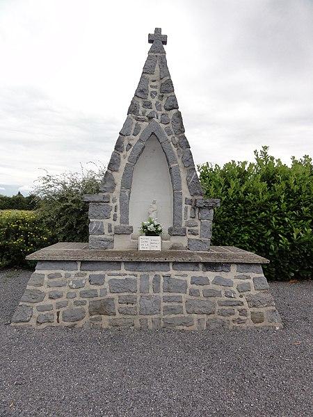 Ohain (Nord, Fr) chapelle N.D. de la Paix, 1954