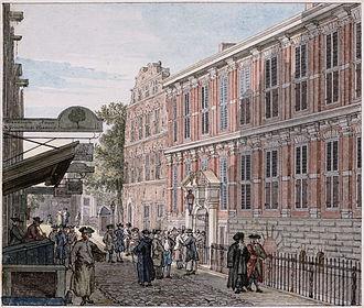 Oost-Indisch Huis - Oost-Indisch Huis by Reinier Vinkeles, 1768. Source: bma.amsterdam.nl
