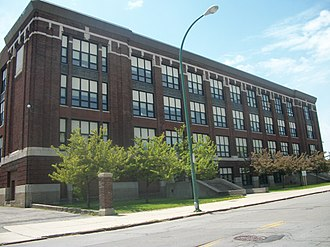 Buffalo Academy for Visual and Performing Arts - BAVPA's former building (1977-2007)