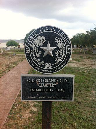 Rio Grande City, Texas - Image: Old Rio Grande Cemetery