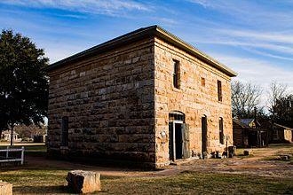 Buffalo Gap Historic Village - Image: Old Taylor Courthouse 2 (1 of 1)
