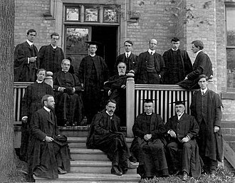 Trinity College, Toronto - Members of faculty at Trinity College in 1904, at the time of federation with the University of Toronto