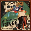 Old Danish enamel advertising sign, Ginge No20.JPG
