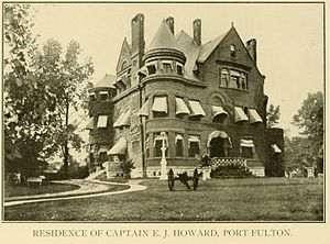 Port Fulton, Indiana - Image: Old Howard Mansion