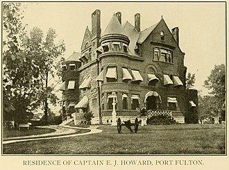 Port Fulton, Indiana - Image: Old Howard Mansion