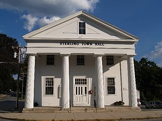Sterling, Massachusetts - Old Town Hall