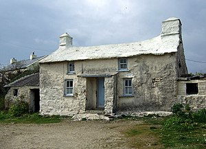 Grouted roof - Old Treleddyd-fawr, Pembrokeshire