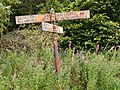 Old signpost in the Vale of Mowbray.jpg
