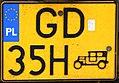 Oldtimer license plate of Poland 01.jpg