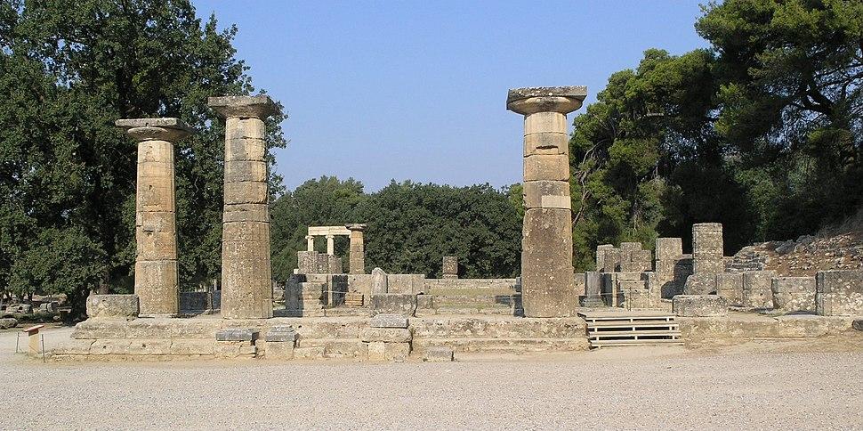 Olympia - Temple of Hera 3