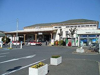 Ōmura Station (Nagasaki) railway station in Omura, Nagasaki prefecture, Japan