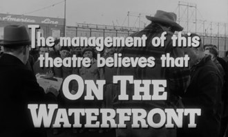 Fichier:On the Waterfront trailer (1954).webm