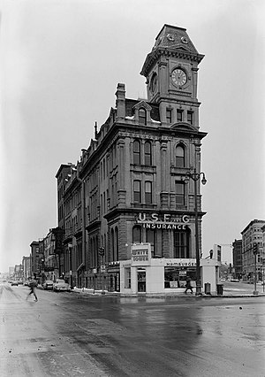Gridley Building - HABS pic in 1962