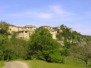 Oppedette Commune in Provence-Alpes-Côte dAzur, France
