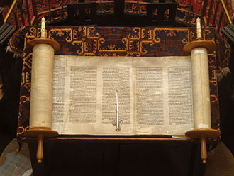 Religion - The Torah is the primary sacred text of Judaism.