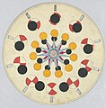 Optical Toy, Phenakistiscope Disc with Geometric Shapes, ca. 1840 (CH 18607983).jpg
